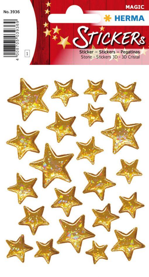 HERMA 3936 MAGIC STARS STONE