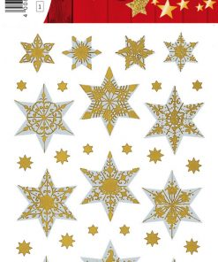 HERMA 3948 DECOR STARS GOLD E
