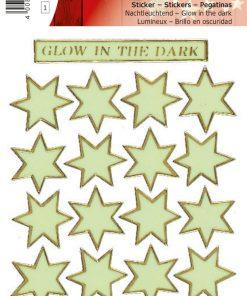 HERMA 4013 MAGIC STARS GLOW IN