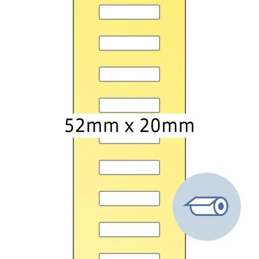 HERMA 4066 ROLL TT 52x19.5