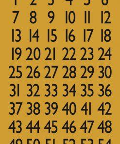 HERMA 4146 VARIO NUMBERS 1-100