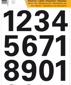 HERMA 4168 VARIO NUMBERS 0-9