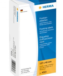 HERMA 4323 FRANKING LABELS SIN