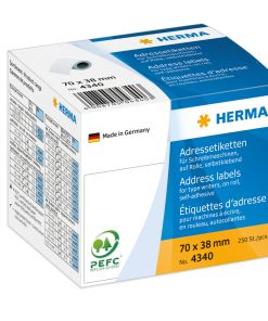 HERMA 4340 ADDR LABELS ROLL