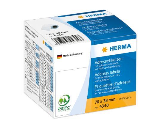 HERMA 4340 ADDR LABELS ROLL