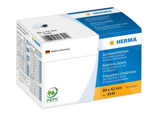 HERMA 4341 ADDR LABELS ROLL