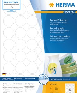 HERMA 4387 MOVABLES LABELS A4