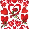 HERMA 3619 DECOR HEARTS & ROSE