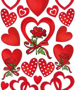 HERMA 3619 DECOR HEARTS & ROSE