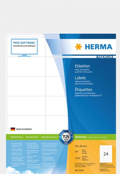 HERMA 4414 PREMIUM LABELS A4