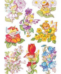 HERMA 3478 DECOR FLOWER ELVES