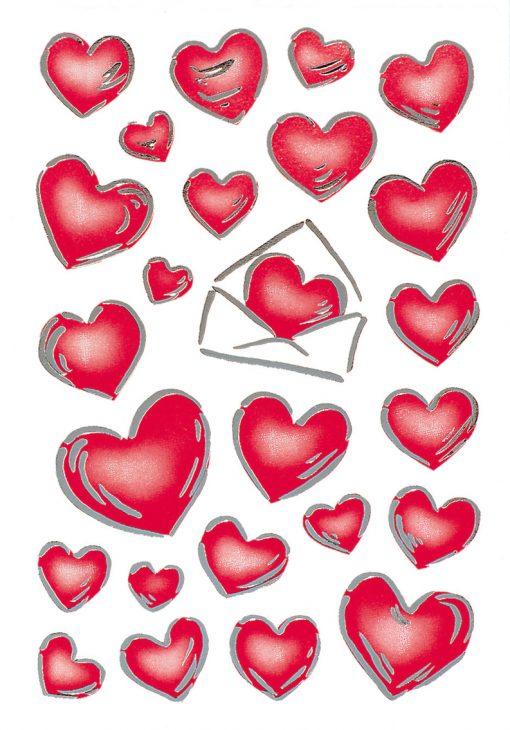 HERMA 3509 DECOR HEARTS & LETT