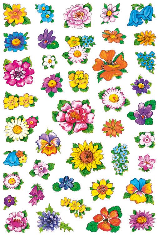 HERMA 3522 DECOR LITTLE FLOWER