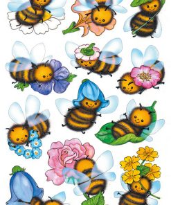 HERMA 3569 DECOR FUNNY BEES