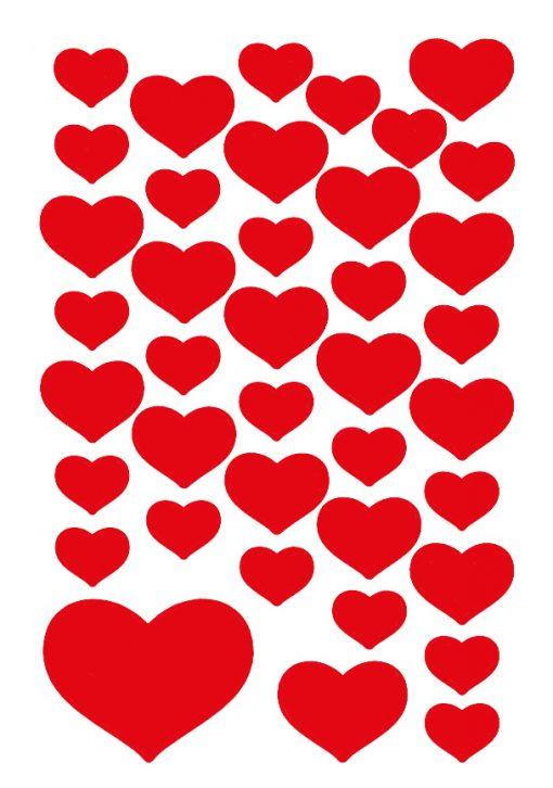 HERMA 3841 DECOR SMALL HEARTS