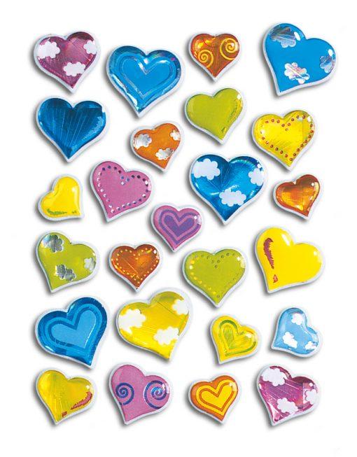 HERMA 5217 MAGIC HEARTS STONE