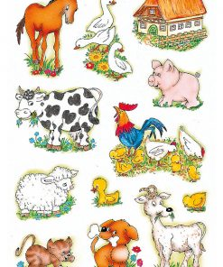 HERMA 5419 DECOR FARM-ANIMALS