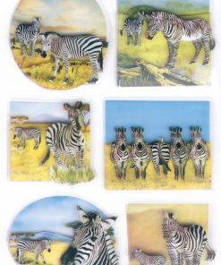 HERMA 6254 MAGIC ZEBRAS 3DFOIL