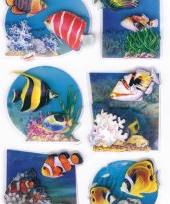 HERMA 6256 MAGIC FISHES 3DFOIL