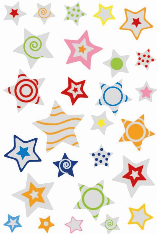 HERMA 6924 MAGIC STARS PUFFY