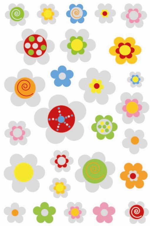 HERMA 6926 MAGIC FLOWERS PUFFY