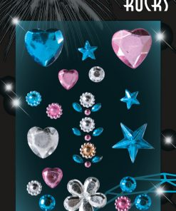 HERMA 5042 GLAM ROCKS HEARTS