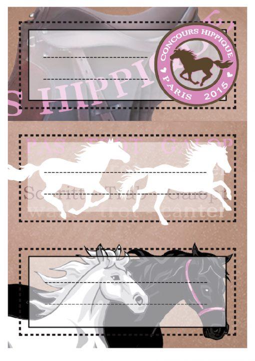 HERMA 5526 VARIO HORSES