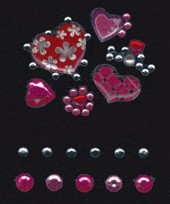 HERMA 6006 GLAM ROCKS HEART