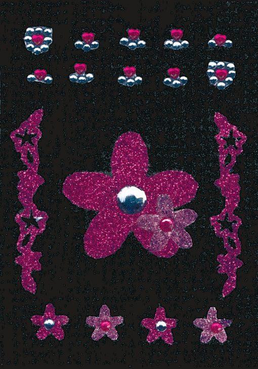 HERMA 6007 GLAM ROCKS FLOWERS
