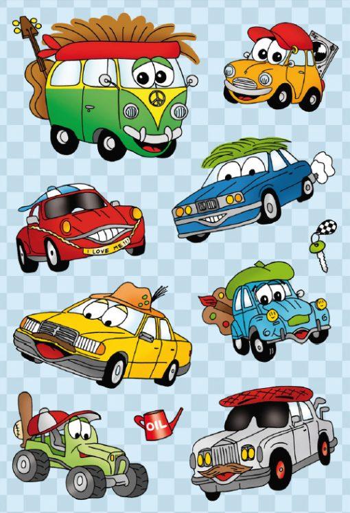 HERMA 6376 MAGIC FUNNY CARS MO