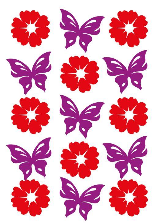 HERMA 6438 MAGIC FLOWERS+BUTTF
