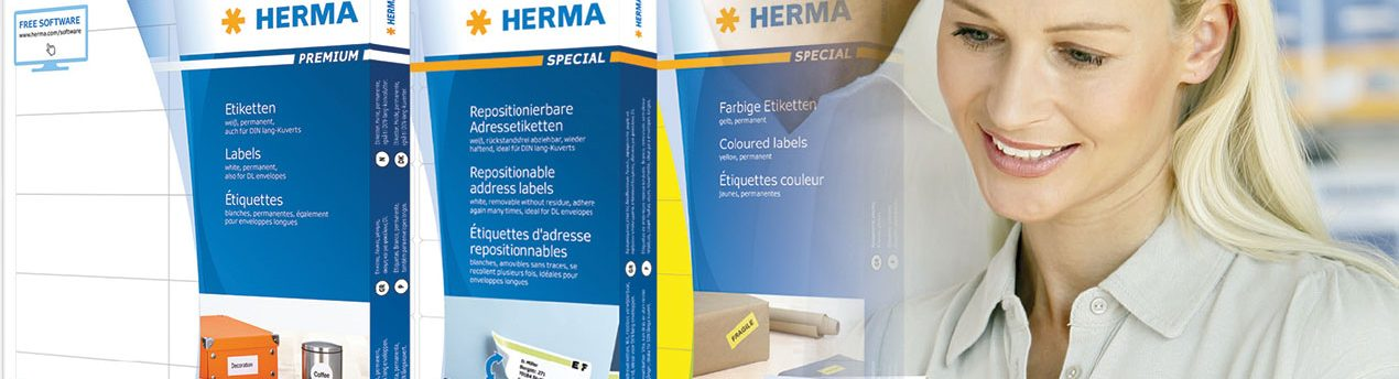 , Product Guide PDF, Herma Labels, Herma Labels